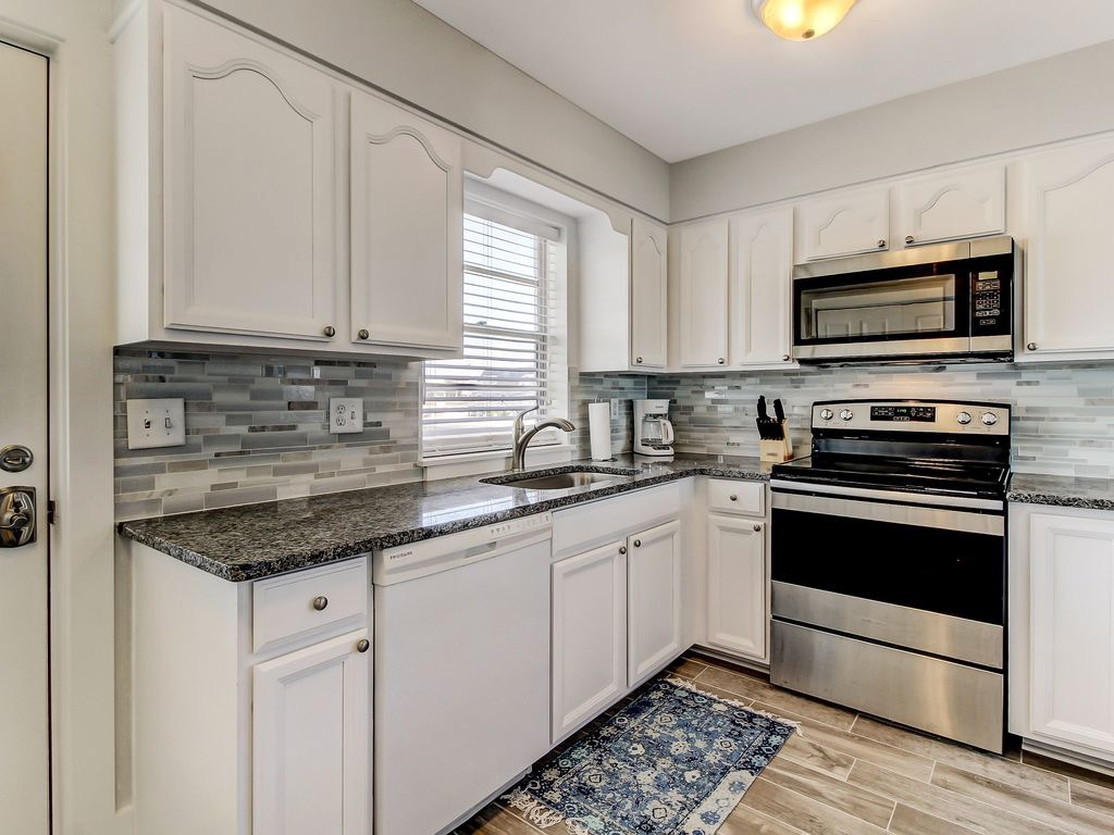 So fresh and inviting!  All new appliances