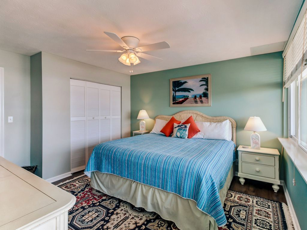Really attractive master bedroom with lots of closet space