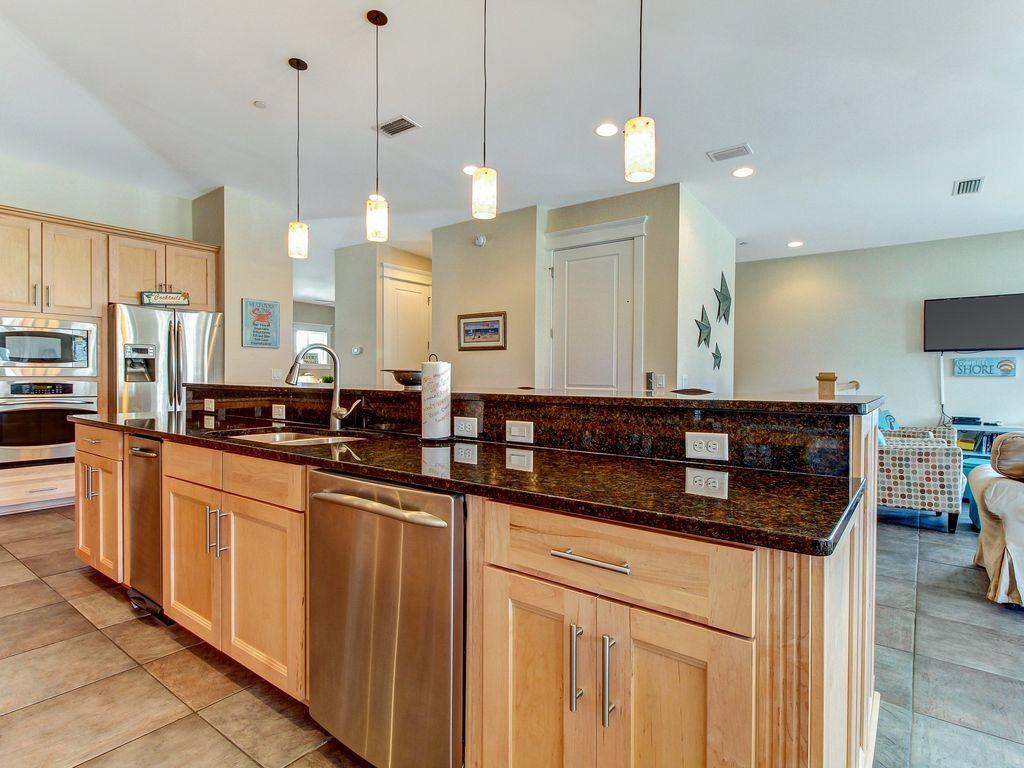 All granite countertops