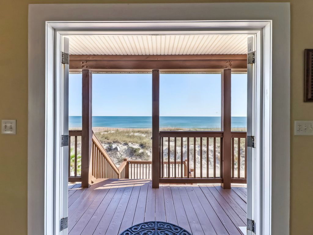 Standing inside entryway - and what a view!